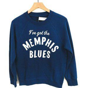 NWT! J.Crew Memphis Blues Sweatshirt